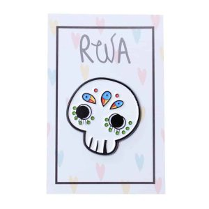 pin sugar skull teschio messicano
